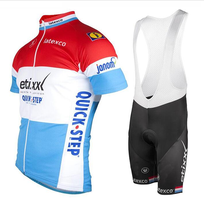 ROPA pro team 2018 ale lotto Short sleeve bib shorts QUICK STEP cycling Jersey Racing summer bicycle wear man and women 9D gel 2018 pro team ale cycling jersey bicycle clothing short sleeve shirt 9d pad bib shorts set breathable quick dry ropa ciclismo