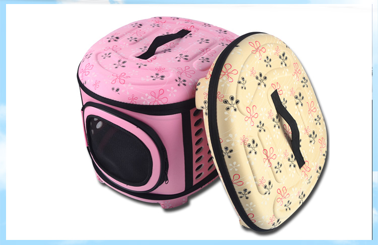 Pet Travel Carrier Large Dogs And Cats Bag Folding Portable Breathable Outdoor Carrier Pet Bag Transportin Shoulder Backpack #4