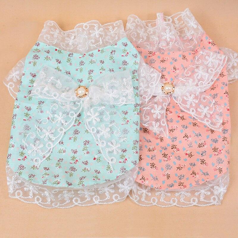 Tienda Online Verano princesa PET falda Vestidos para cachorros ...