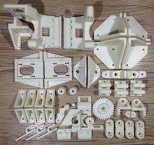 НОВЫЙ, Adapto Reprap 3D Принтер РП Частей Печатных Комплект Деталей АБС-Пластик Частей Комплект Бесплатная Доставка