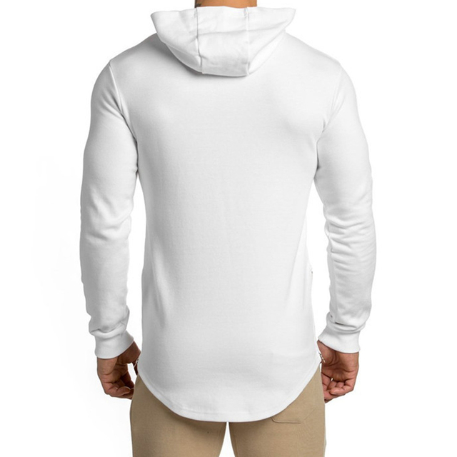 Long-sleeved Hooded Outdoor Men's tight-fitting sports 4