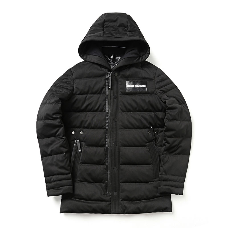 Ultralight Duck Down Warm Men's Winter Jackets Printed Quilted Padded Cotton Mens Down Hooded Coats Thicken Winter Parkas,MT258 стоимость