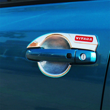 цена на for Suzuki Vitara 2015 2016 2017 2018 Chrome Car Door Handles Cover Trim Side Door Handle Cover with Smart Holes Car Accessories