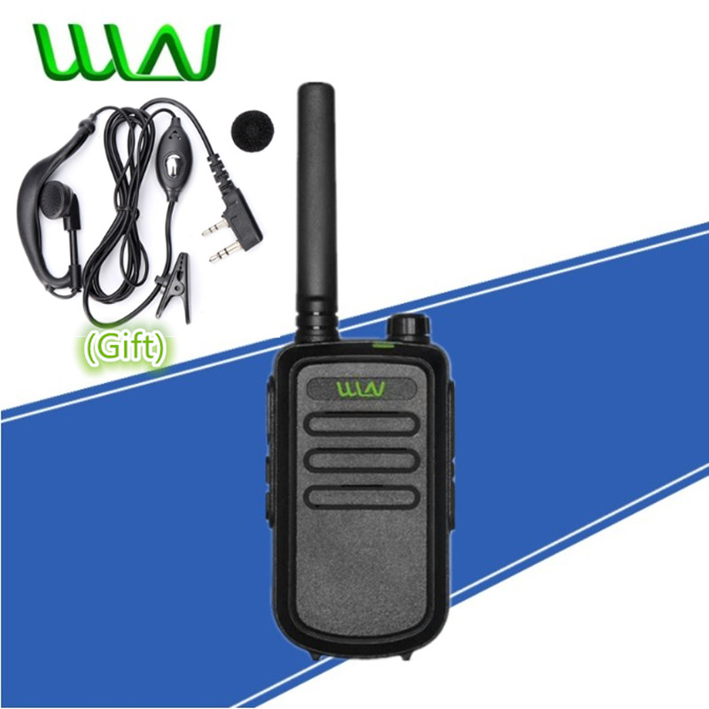 WLN KD-C10 UHF 400-470MHz 16 Channel Mini Two Way Radio FMR PMR Walkie Talkie KD C10 Interphone KAILI