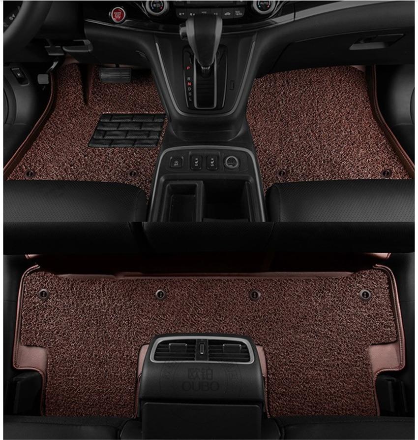 for honda fit jazz 2008 2013 floor mats foot carpets mat auto step mat high quality new water. Black Bedroom Furniture Sets. Home Design Ideas