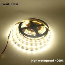 Светодиодная ленсветильник 5630 smd 5730 led 5 м Водонепроницаемая
