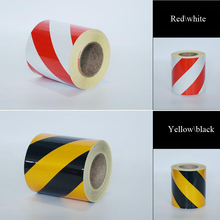 10cm X5m Self-Adhesive PET Reflective Sticker Warning Strip Decal corrosion resistance