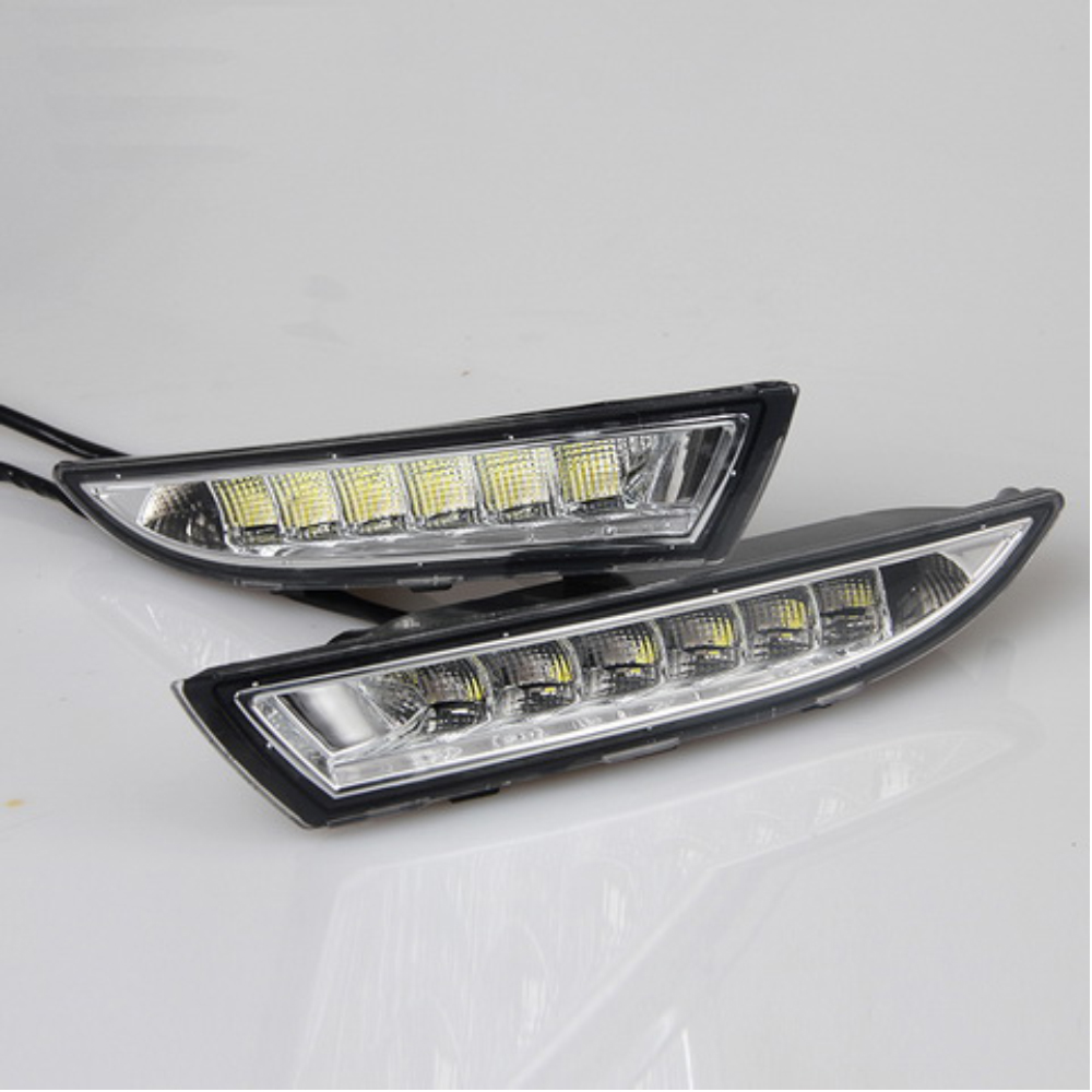 car accessories LED auto fog lamp Daytime Running Light for V/olkswagen R s/cirocco 2009-2013 DRL Turning signal lights
