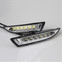 car accessories LED auto fog lamp Daytime Running Light for V/olkswagen R s/cirocco 2009 2013 DRL Turning signal lights