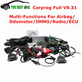 2016 Más Reciente V9.31 Carprog 21 Adaptadores Car Prog Programador Profesional De Airbag/Radio/Tablero/IMMO/ECU Herramienta de Reparación de Automóviles