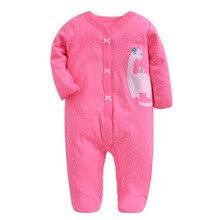Купить с кэшбэком Christmas 2019 baby girl clothing , baby jumpsuits infant Pajamas , for newborn -12M baby romper brand baby costumes