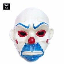 Soulman Одежда высшего качества Смола сделал Хэллоуин ужас маска разбойник Джокер Уход за кожей лица маска Косплэй Джокер Бэтмен Темный рыцарь Косплэй крепкий