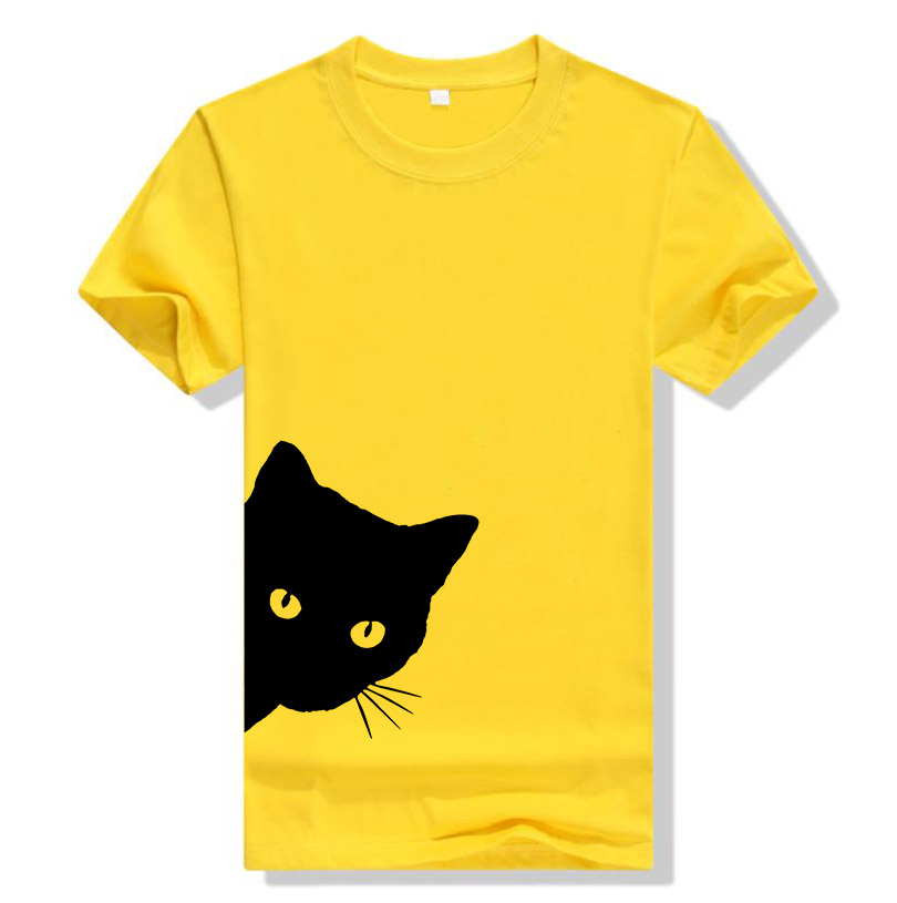 Cotton Casual Funny Printed T Shirt 27