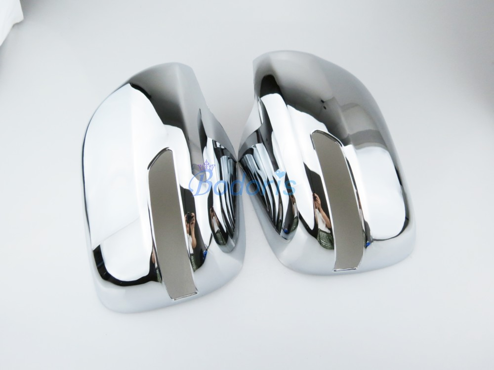 Door Mirror Cover Rear View Overlay Trim Panel Chrome Car Styling 2008 2009 2010 2011 For