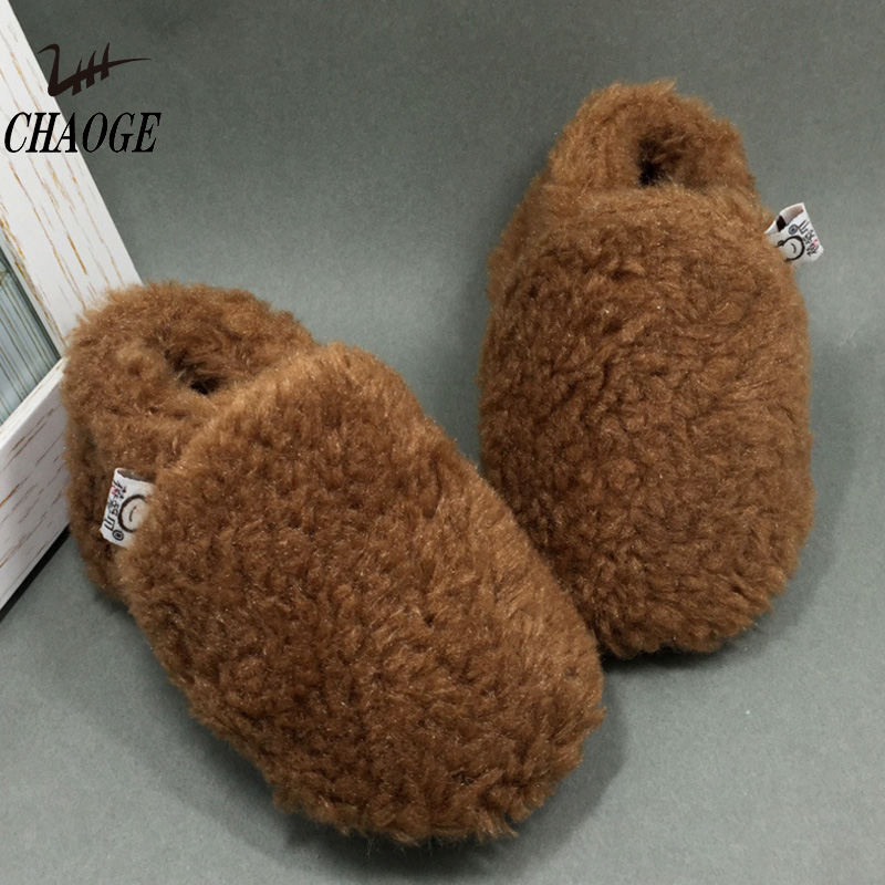 Toddler Shoes Baby New Warm Indoor Soft -1 Anti-Drop Cotton