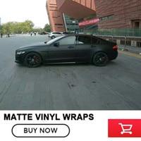 Auto accessoires zelfklevende film Matte Zwarte Auto auto body film Wrapping Vinyl Wrap voor auto lichaam Beschermd