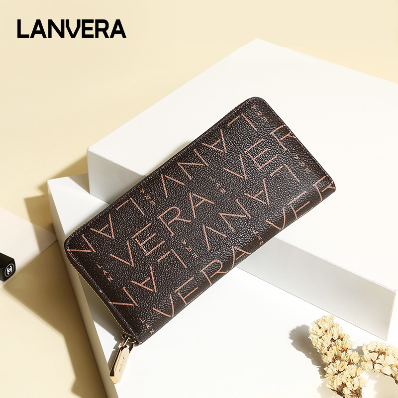 цены 2018 Fashion Luxury Womens Wallets Simple Zipper Purses Long Section Clutch Wallet Famous Brand Designer Wallet Women Money Bag