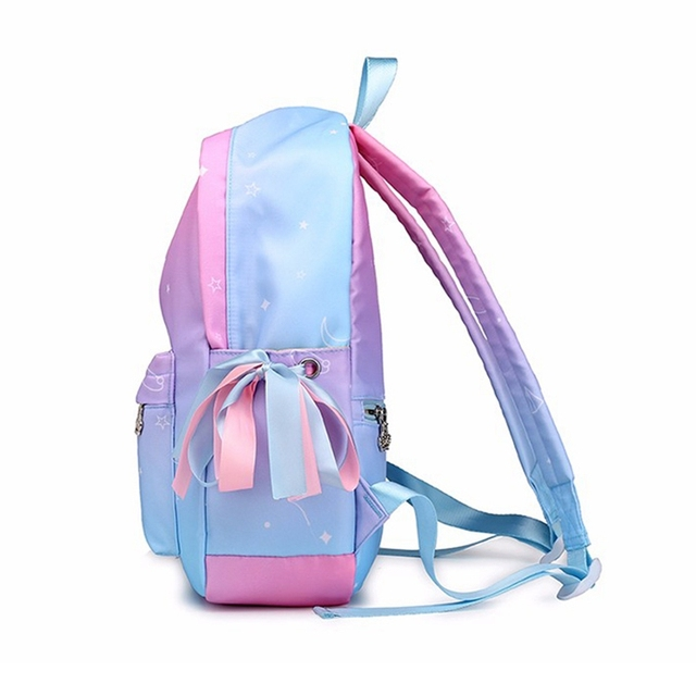 Orthopedic Backpack School Children Schoolbags For Girls Primary Book Bag Printing 3