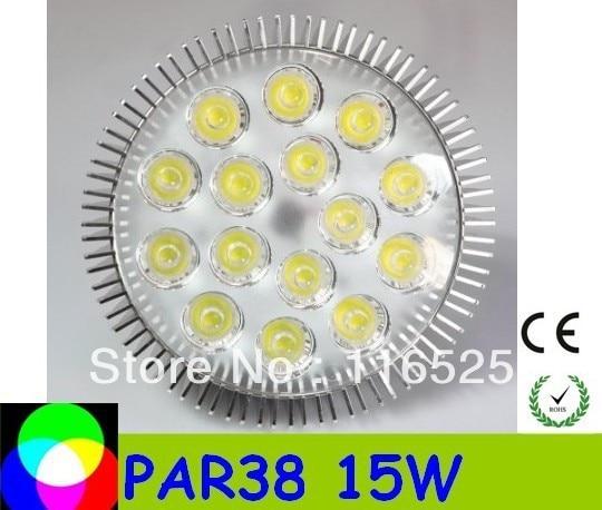 PAR38 15W E27 base Led Spotlight Bulbs Led Lamp free delivery high quality factory price 85-265V 100pcs /lot