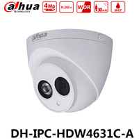 Dahua IPC HDW4631C A HD 6MP POE Built in MIC IR 50m IP67 Network Dome Camera Replace IPC HDW4433C A IPC HDW4431C A EXPRESS SHIP