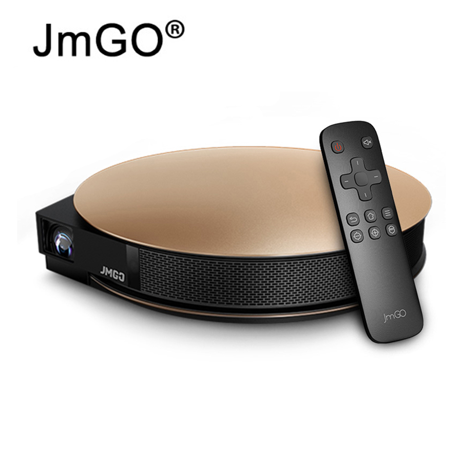 JmGO G3 Pro Smart Home Theater Wifi Android OS Support 4K 1080P 300 inch USB HDMI Beamer 1200 ANSI Bluetooth Speaker jmgo view jmgo p2 dlp mini projector led wifi 3d full hd 1080p smart theater 180 inch hifi bluetooth portable proyector beamer
