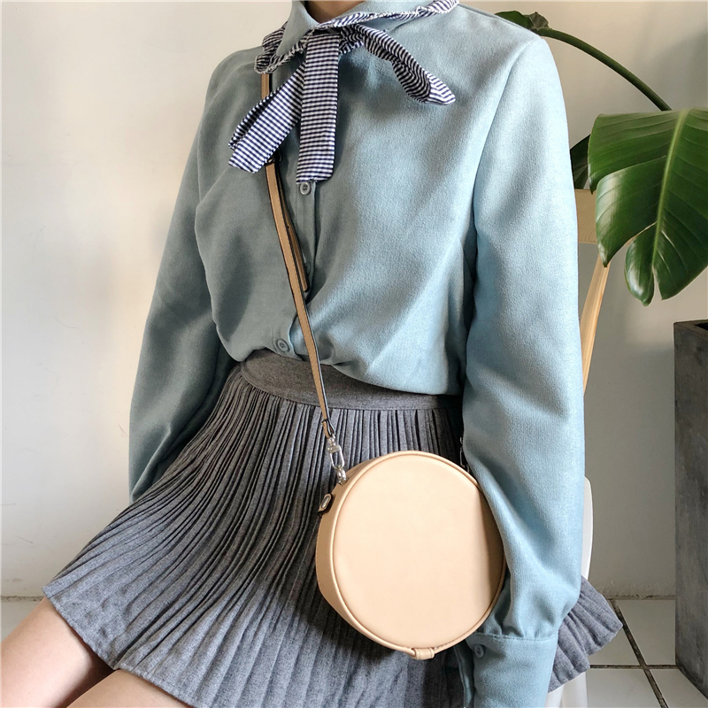 Fashion Striped Bow Patckowrk Shirts Women Long Sleeve Ruffles Bloues Tops 2018 Spring Autumn Loose Casual Female Blouses FP0396