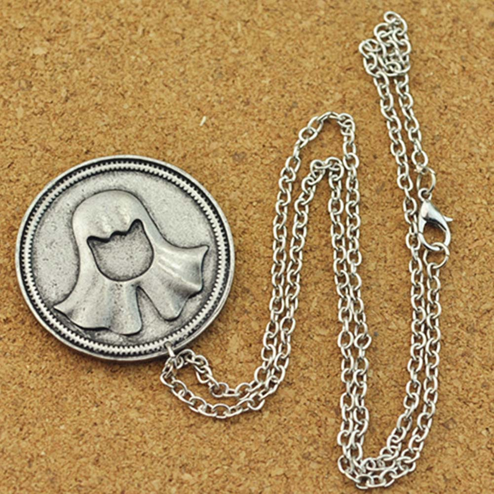 Song of Ice and Fire faceless man coin necklaces & pendants vintage necklace movie surrounding jewelry