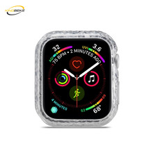 KINGBEIKE Transparent Watch Case For Apple Watch Series 4 iWatch 40mm 44mm Protective Screen Protector Shell