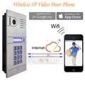 Беспроводная система ip-домофон домашнего доступа дверь открытой дистанционного управления камерой дверной звонок для бесплатная доставка