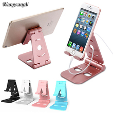 Universal Fold Rotating tablet car phone holder for iphone 7 X desktop stand your mobile