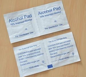 Image 3 - 100PCS (אין קידוד שבב) תפוגה 31th 12.2021 Accu chek פעיל מבחן רצועות, סטרילי מגבת יד sanitizer אלכוהול Pad