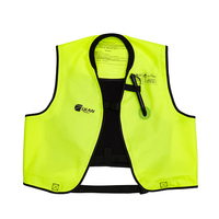 Sailingmate Adult Manual Inflatable Accessorial Life Vest Professional Safe Water Sport Accessorial Life Jacket for Swimming