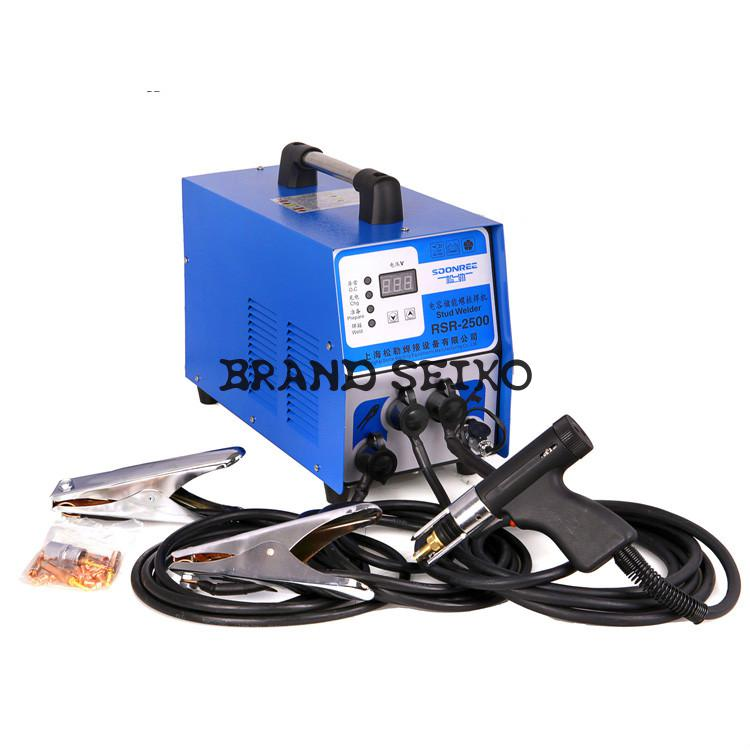 Rsr-2500 Capacitor Energy Storage Stud Welding Machine Bolt Plate Insulation Nail inverter welding machine plastic insulation nail wall expansion bolt anchor size 10 cm wall insulation sleeve $ 0 12 2500 bagging