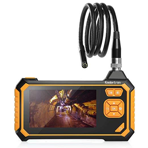 4.3 inch LCD industrial endoscopic camera  1080P HD professional micro video inspection machine|Borescopes| |  - title=