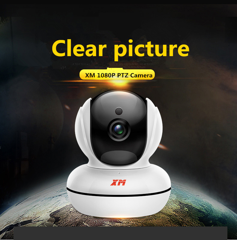 XM 1080P HD Night Vision CCTV Home Security Camera Wifi Wireless Cam Video Webcam Motion Detection IR-Cut IP Camera howell wireless security hd 960p wifi ip camera p2p pan tilt motion detection video baby monitor 2 way audio and ir night vision