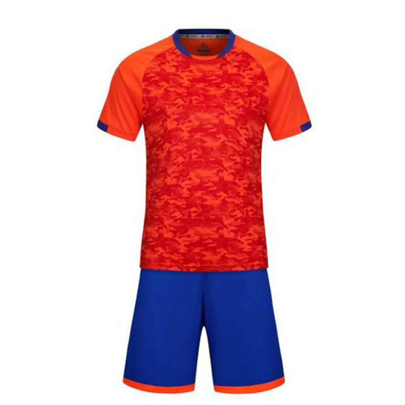 Men s New Orange and Blue Color Breathable Soccer Jerseys Sets Clubs Party  Football Team Soccer Uniforms Shirts Suit Custom 2018-in Soccer Sets from  Sports ... e35a69f77