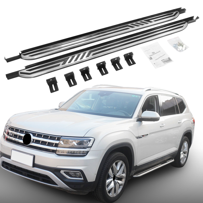 Nerf Bar Platform Side Step for VW Volkswagen Atlas 2018 Running Board 2 PCS-in Nerf Bars ...