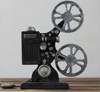 Free Shipping!Vintage Style Projector Mould Resin bioscope Mold Coffee Bar Decoration Resin House Decor