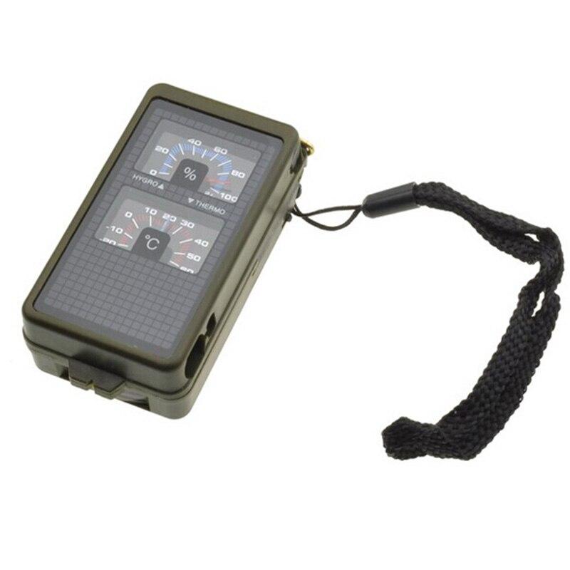 Neue Hohe Qualität Vielzahl Multifunktions 10 in 1 Military Camping Überleben Outdoor-Tool Kombination Kompass Kit HR