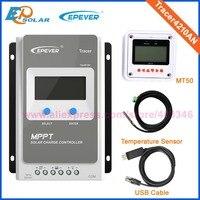 Tracer40AN с MT50 метр MPPT Контроллер заряда 12 В в В 24 EPEVER PV регулятор EPsolar