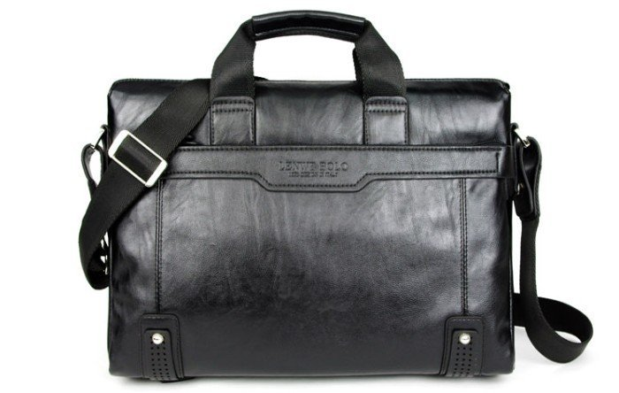 Free Designer Fashion Vintage Mens Genuine Leather Bags Briefcase ...