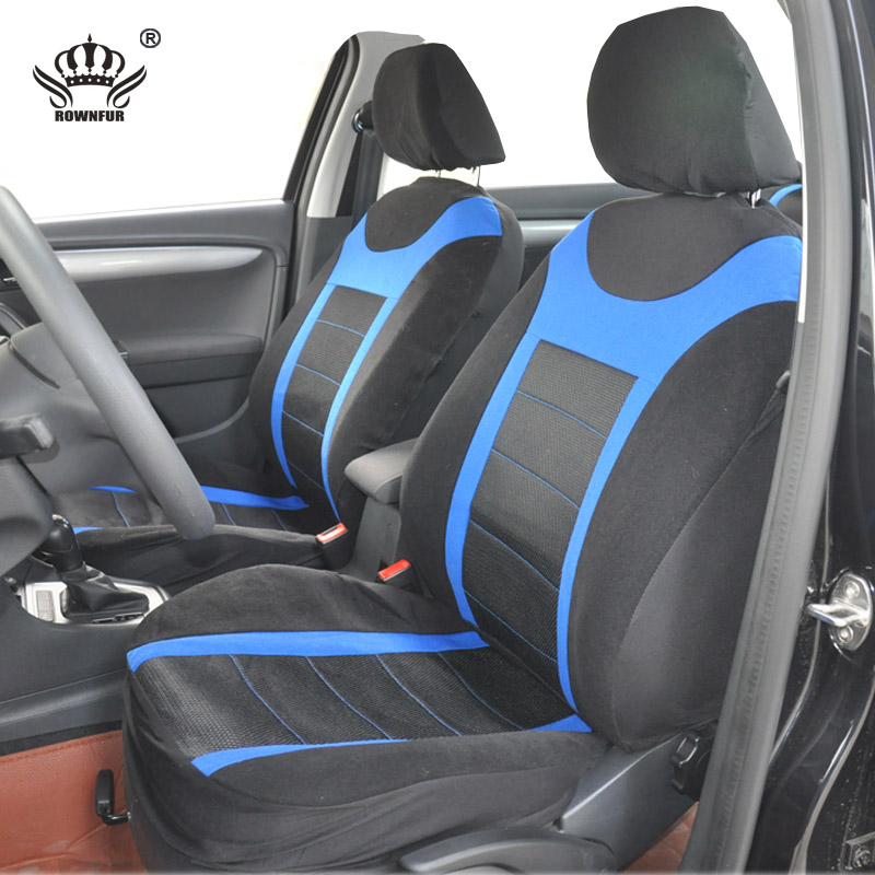 autocrown universal car seat cover set fit most cars with tire track detail car styling car seat. Black Bedroom Furniture Sets. Home Design Ideas