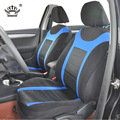 AUTOCROWN  Universal Car Seat Cover set Fit Most Cars with Tire Track Detail Car Styling Car Seat Protector 3 colors polyester