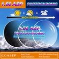 1.56 Lentes fotocromáticas prescrição óptica óculos de Miopia Presbiopia Mudança lentes coloridas para os olhos Óculos de lentes opticos