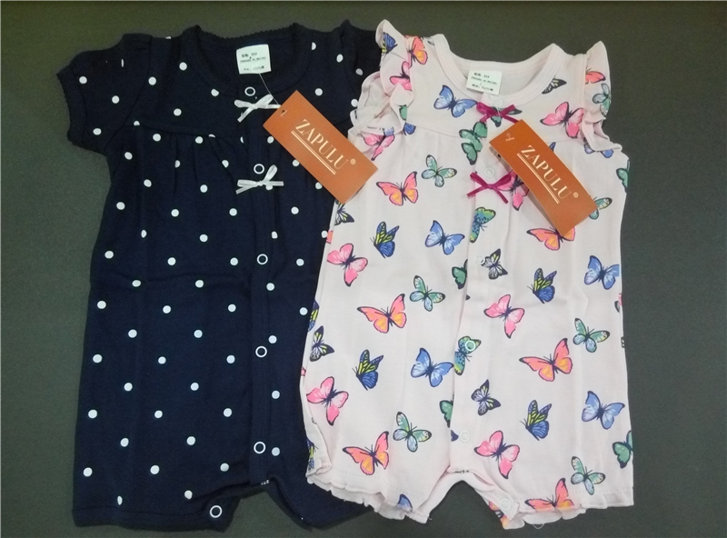 91296a3727f8 Baby Rompers Summer Baby Girl Clothes 2017 Baby Girl Dress Cotton Newborn  Baby Clothes Roupas Bebe