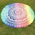 The most Round Hippie Tapestry Beach Throw Roundie Towel Yoga Mat Bohemian