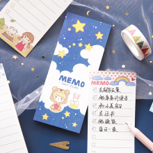Get more info on the 2pcs Cartoon girl daily planner To do list memo organizer Fruit agenda note stationery Office accessories School supplies F084