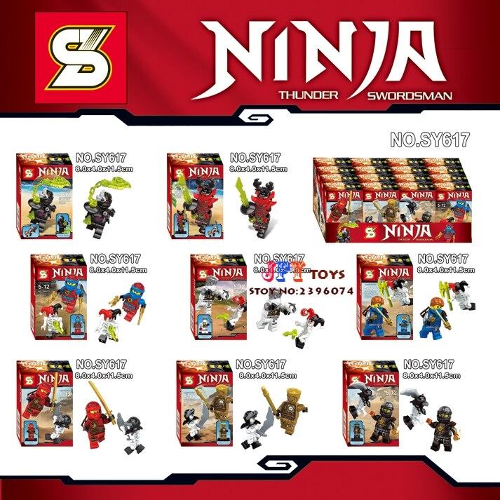 80pcs Phantom Golden Ninja Collection building blocks bricks friends for girl boy house games kids children toys iluminador