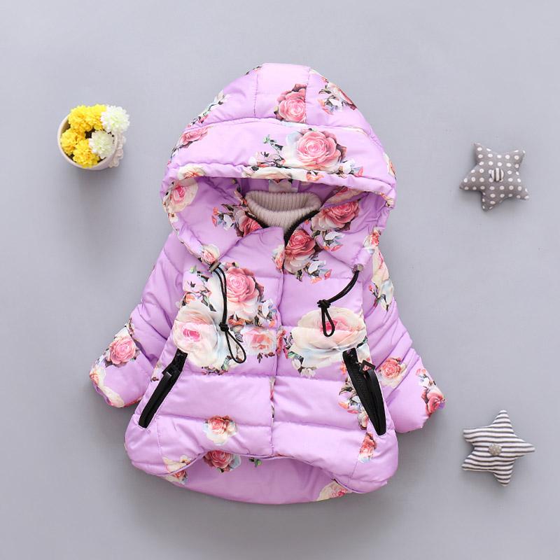 LZH Baby Girls Jacket 19 Autumn Winter Jacket For Girls Coat Kids Warm Hooded Outerwear Coat For Girls Clothes Children Jacket 28