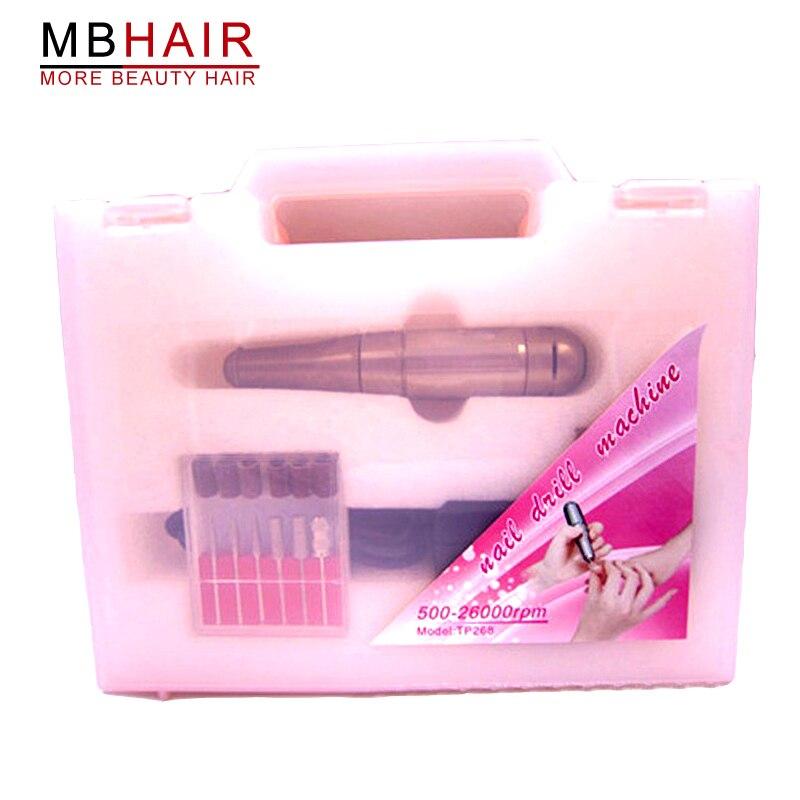 ФОТО Grinding machine handle / nail polishing machine / nail supplies tools / electric grinder handle guns with one set of drill bits